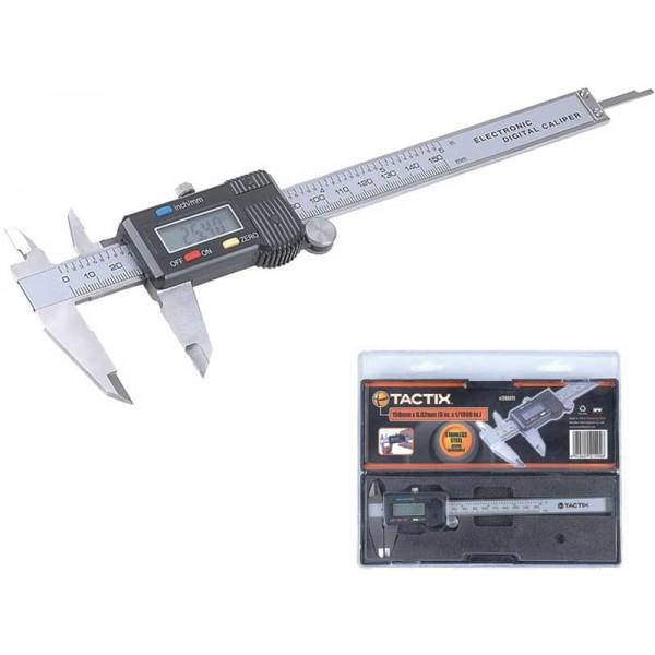 Tactix - Ψηφιακό Παχύμετρο Μεταλλικό σε Θήκη #245111