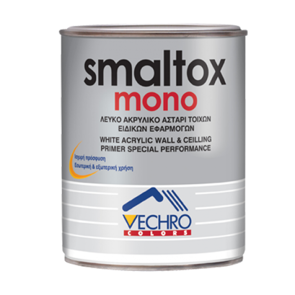 Vechro - Smaltox mono λευκό (0,750L - 3L - 15L)